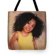 Little Girl Tote Bag