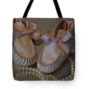 Little Girls To Pearls Tote Bag
