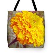 Little Golden  Marigold Tote Bag