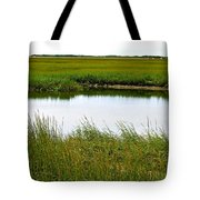Little Green Paradise Tote Bag