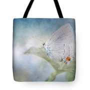 Little Grey Hairstreak Tote Bag