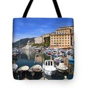 little harbor in Camogli Tote Bag