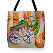 Little Harvest Wagon Tote Bag