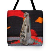 Little Head With Tongue Tote Bag