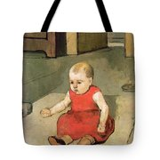 Little Hector On The Floor, 1889 Tote Bag
