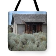 Little House In The Sage Tote Bag