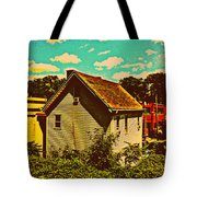 Little House - The World Around New York City Tote Bag
