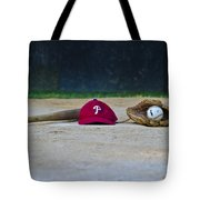 Little League Dreams Tote Bag by Bill Cannon