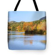Little Long Pond And Bubbles Mount Desert Island Maine Tote Bag