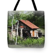 Little Mill Eastern State College - Faded Tote Bag