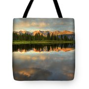 Little Molas Lake At Sunset Tote Bag