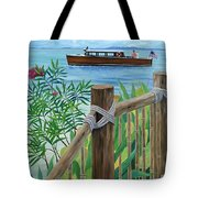 Little Palm Island Tote Bag