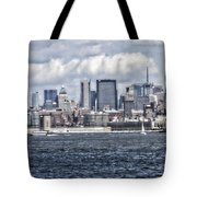 Little People In Big Places Tote Bag