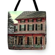 Little Pink Houses Tote Bag