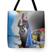 Little Prince Ninja Tote Bag