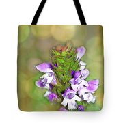Little Purple Mint Tote Bag