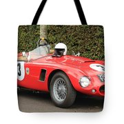 Little Red Ac Bristol Racer Tote Bag