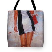 Little Red Bag Tote Bag