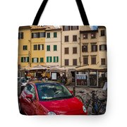 Little Red Fiat Tote Bag