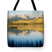 Little Red Fish Lake, Stanley, Idaho Tote Bag