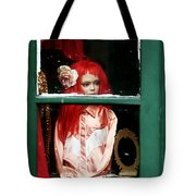 Little Red-haired Girl Tote Bag