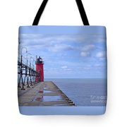 Little Red Light Tote Bag