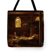 Little Red Riding Hood Tote Bag by Fleury Francois Richard