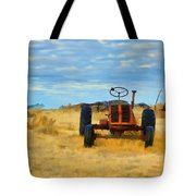 Little Red Tractor 4 Tote Bag