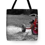 Little Red Trike Tote Bag