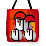 Little Red Truck Tote Bag