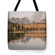 Little Redfish Lake Reflections Tote Bag