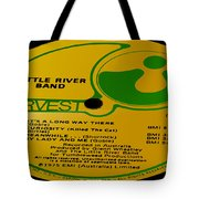 Little River Band It's A Long Way There Side 1 Tote Bag