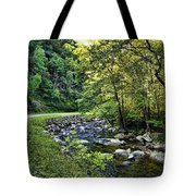 Little River Road Tote Bag