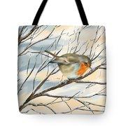 Little Robin Tote Bag