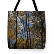 Little Round Top Trees Tote Bag