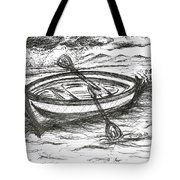 Little Rowing Boat Tote Bag