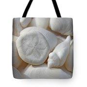 Little Sand Dollar And Seashells Tote Bag