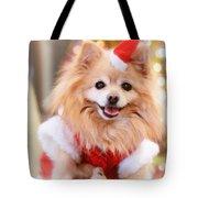 Little Santa Claus Tote Bag