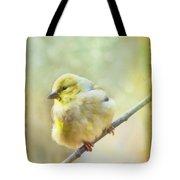 Little Softie Gold Finch - Digital Paint Tote Bag