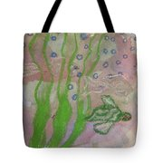 Little Turtle Finding His Way Tote Bag