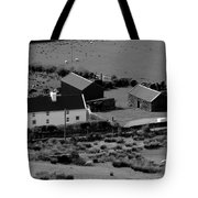 Little White Cottage  Tote Bag