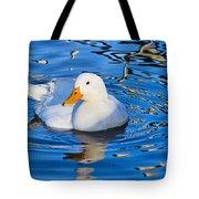 Little White Duck Tote Bag