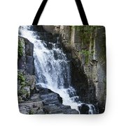 Little Wilson Falls Maine Tote Bag