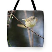 Little Yellow Bird In The Glades Tote Bag