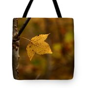 Little Yellow Leaf Tote Bag
