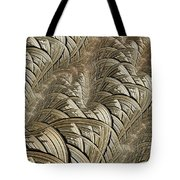 Litz Wire Abstract Tote Bag