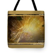 Live And Be In The Light Tote Bag