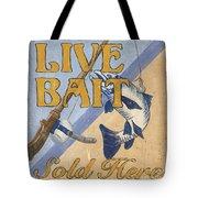 Live Bait Tote Bag