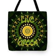Live Green 1 Tote Bag