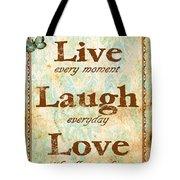Live Laugh Love Digital Art By Jean Plout